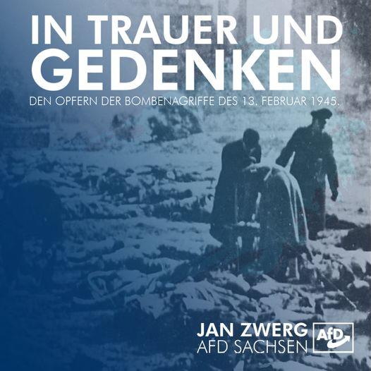 Gedenken den Opfern des 13. Februars 1945