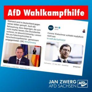 Vielen Dank Herr Kretschmer, vielen Dank CDU