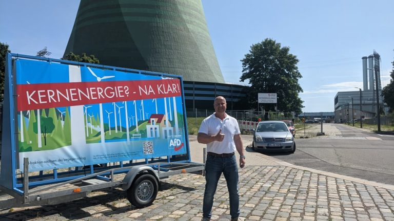 Bundestagsfraktion vor Ort: Kernkraft, Blackouts, höchste Strompreise, Grüner Ökokommunismus
