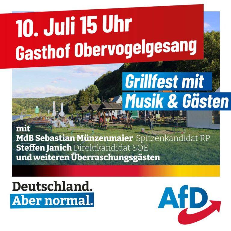 Sommerfest Gasthof Obervogelgesang
